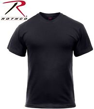 Black Tactical Military Police Short Sleeve Polly/Cotton T-Shirt 6670