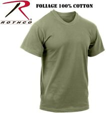 Foliage Green Tactical Military Police Short Sleeve 100% Cotton T-Shirt 6370