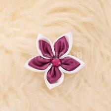 2pcs Flower / Bowknot Pin Brooch Apparel Accessory for Pet Dog Cat Claret / RED