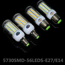 Energy Efficient 15W E27/E14 5730SMD 56LEDs LED Corn Bulbs LED Lamps AC110V/220V
