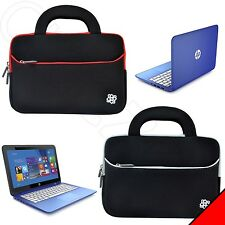 """Kozmicc Neoprene Sleeve Handle Bag Pouch Case Cover for HP Stream 13.3"""" Laptop"""