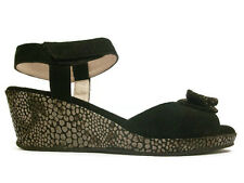 "Beautifeel ""Riva"" Black Wedge Made in Israel"