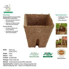 60mm Jiffy® square pots with slits. For seed & plant propagation. Free P&H.