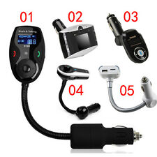 Bluetooth MP3 Player FM Transmitter Handsfree Car Kit For Samsung iphone 5 6 HTC