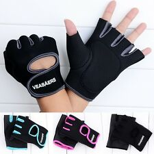 New Men Sport Cycling Exercise Training Weightlifting Half Finger Fitness Gloves