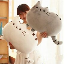 New Cute 40x30CM Creative Cat Soft Material Toy Cookies Pillow Plush Cat Toy