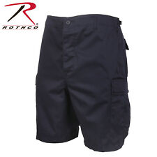 MIDNITE BLUE EMT & POLICE Military BDU Combat Cargo Shorts Poly/Cotton 65230