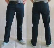 Hose / Jeans Regular Blau Navy F&F Stretch 99% Baumwolle 1%Elasthan Straight