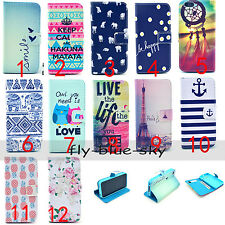 For Phones Fashion Magnetic PU Leather Flip Wallet Stand Soft TPU Silica Case