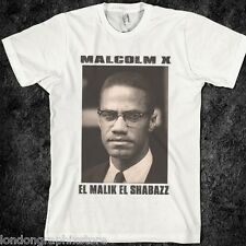 Malcolm X T-shirt, MLK, Ferguson, Mike Brown, Nelson Mandela, new, black history