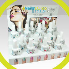 Harmony Gelish Soak Off Glitter Gel Polish Trends & Glass House Collection .5oz