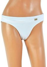 White Bikini Bottoms with Gold Clip Sizes 12 14 16 18 holiday summer underwear