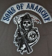 Sons of Anarchy SAMCRO Reaper Logo  Tee T-Shirt Officially Licensed SOA