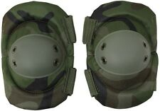 WOODLAND CAMO Military & Swat Tactical Protective Gear Elbow Pads 11057