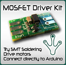 SMD MOSFET Driver for Arduino, AVR, PIC,  Microcontroller & Reprap Projects