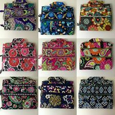 NWT VERA BRADLEY HANGING ORGANIZER Ziggy Zinnia Midnight Blues Flower Shower