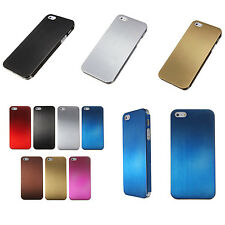Titanium Alloy Metal Steel Hard Skin Back Case Cover For Apple iPhone 5S 5 3G 4G