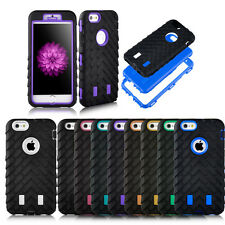 """Heavy Duty Rugged Armor Hybrid Stand Hard Case Cover For Apple iPhone 6 4.7""""+LCD"""
