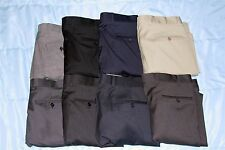 *NWT* Kirkland Signature Men's Italian Wool Pleated Dress Slacks/Pants