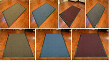 RUGS LARGE SMALL KITCHEN HEAVY DUTY BARRIER MAT NON SLIP RUBBER BACK DOOR HALL