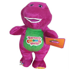 "Barney Dinosaur 8"" 12"" Sing I LOVE YOU song Purple Plush Soft Toy Doll Xmas gift"