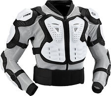 Fox Racing TITAN SPORT JACKET Roost Deflector White Guard Chest Protector