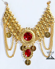 New Gem Necklace Jewelry Belly Dance Costume Accessories Necklace 3 colours