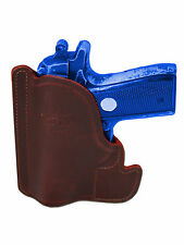 New Barsony Burgundy Leather Pocket Holster Kel-Tec Taurus Sccy 380 Ultra Comp