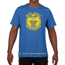 SPLASH BROTHERS Golden State Warriors Jersey Stephen Curry Klay Thompson T-Shirt