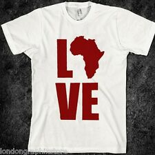 hip hop, love Africa t shirt, nas, wutang clan, rap, New, Nelson Mandela
