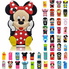 iPhone 5 Case Silicone Rubber Cute Cartoon Patterned Cover For iPhone 5 5S 5C 5G