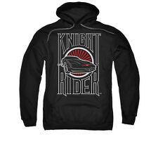 KNIGHT RIDER LOGO Licensed Pullover Hooded Sweatshirt Hoodie SM-3XL