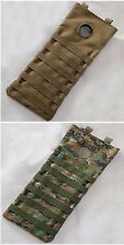 New Airsoft Molle 2.5L Hydration Pouch With Bladder Hole Coyote/Marpat