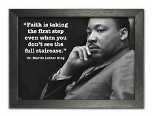 Martin Luther King Jr. 9 - icon - motivational - famous quotes -  poster picture