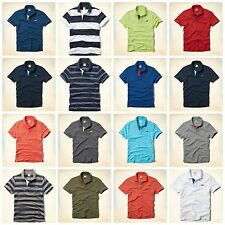 NWT Men Hollister by Abercombie Polos Shirt - All colors - All sizes