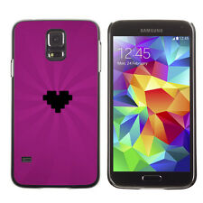Hard Phone Case Cover Skin For Samsung Galaxy Minecraft Heart