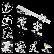 Buy 6 Get 1 Free Novelty Deisgn Shirt Wedding Men's Cufflinks Tie Clip Bar Clasp