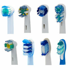 Toothbrush Heads for Oral-B Flexisoft Floss action Precision 3D white Dual Clean