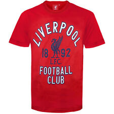 Liverpool Football Club Official Soccer Gift Infants Graphic T-Shirt Red