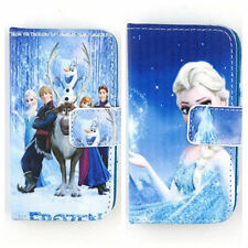 Frozen PU Leather Flip Stand Cover Case Protective Skin for iPod Touch 4 4G 5 5G