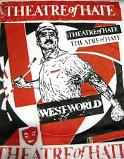 THEATRE OF HATE T SHIRT WESTWORLD post-punk UK Subs The Cult