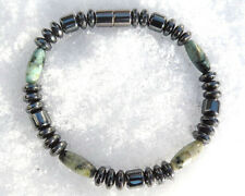 Magnetic Healing Bracelet Anklet Healing AFRICAN TURQUOISE 1 Row FREE SHIPPING
