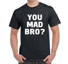 YOU MAD BRO? New Jersey Shore Reality Show Pauly D GTL Guido Funny Mens T-Shirt