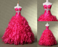 Glamorous Beading Quinceanera Dress Floor length Prom Homeing Dresses Size2---14