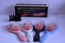 Mason Pearson N4 Small Pocket Size Nylon Tufts Thick Hair Brush Boxed, Gift
