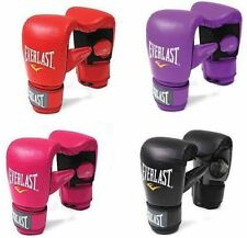 Everlast Boxing Bag Cardio Gloves Mitts Mens Kick Boxing Ladies Womens Muay Thai