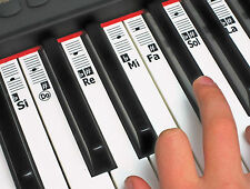 Autocollants Note Musique Piano Solfège - Do - Re - Mi Solfa Clavier Solfeggio
