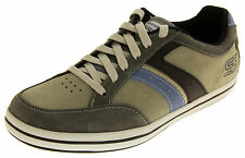 Mens SKECHERS Trainers SUEDE LEATHER Classic Fashion Trainer Shoes Sz Size 5-12