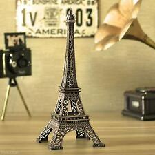 1X Famous Eiffel Tower Statue Home Office Decor Ornament Birthday Festival Gift
