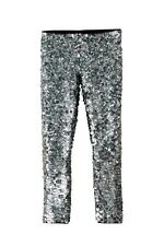 ISABEL MARANT H&M SILVER SEQUIN TROUSERS PANTS NEW WITH TAGS SOLD OUT SIZES M L